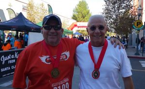 Jeff and Al at 2015 SCV Marathon SML