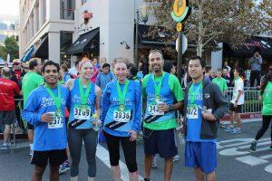 SC marathon runners